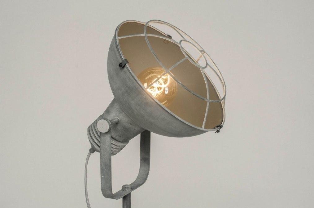 Vloerlamp 72735: industrie, look, landelijk, rustiek #0
