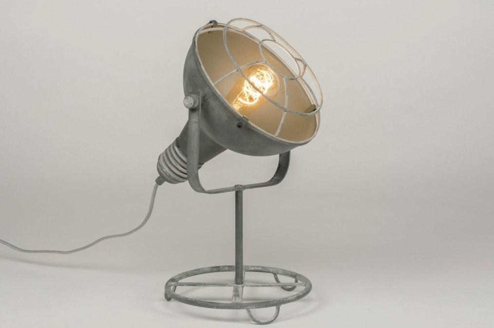 Tafellamp 72736: industrie, look, landelijk, rustiek #0