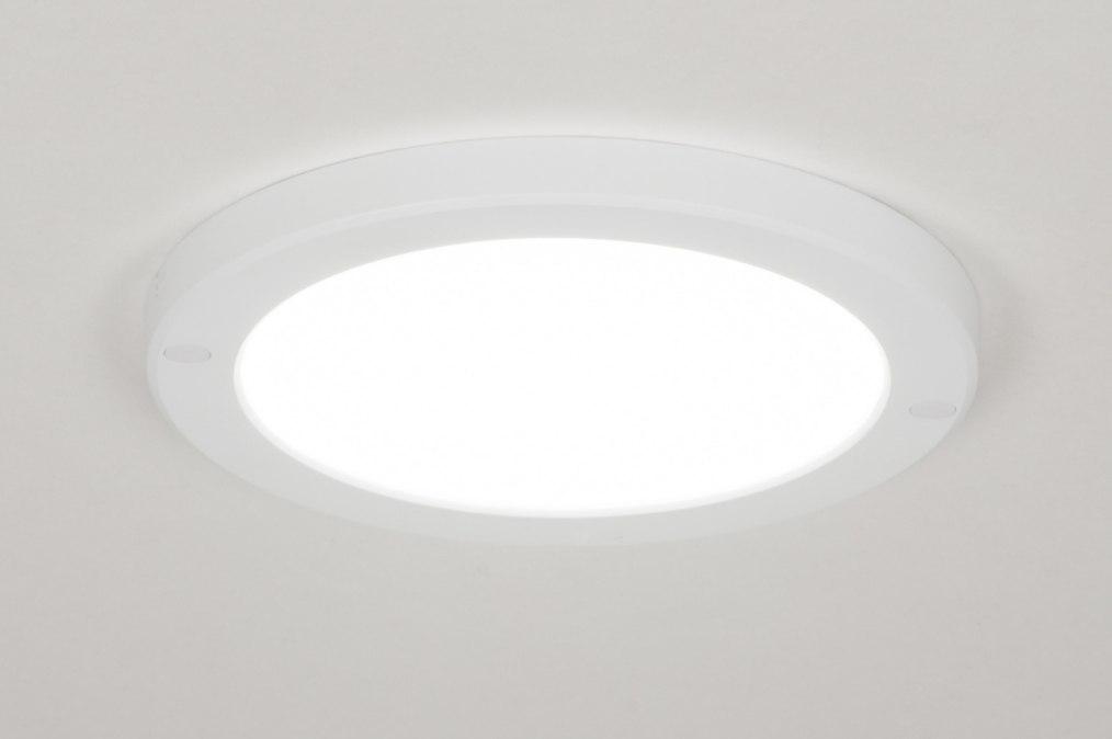 Ceiling lamp 72741: modern, plastic, white, matt #0