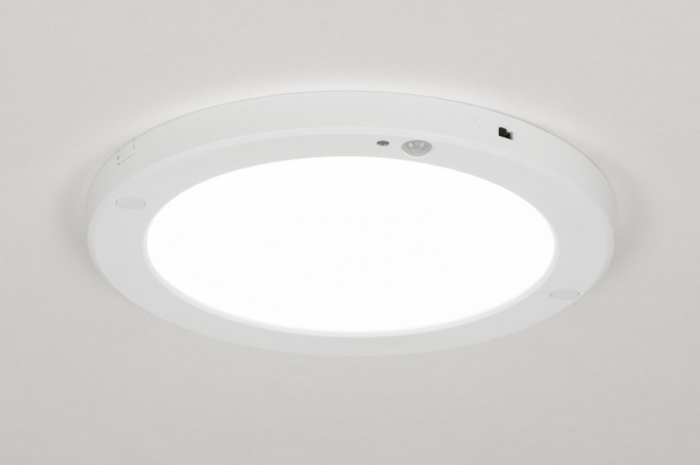Ceiling lamp 72742: modern, plastic, white, matt #0