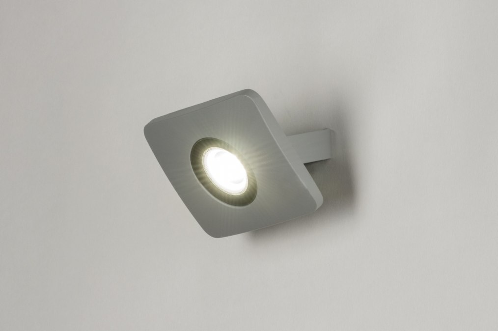 Wandlamp 72747: eindereeks, design, modern, aluminium #0