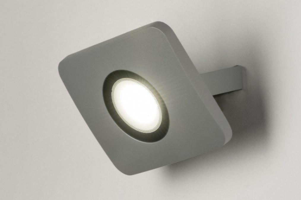 Wandlamp 72749: sale, design, modern, aluminium #0