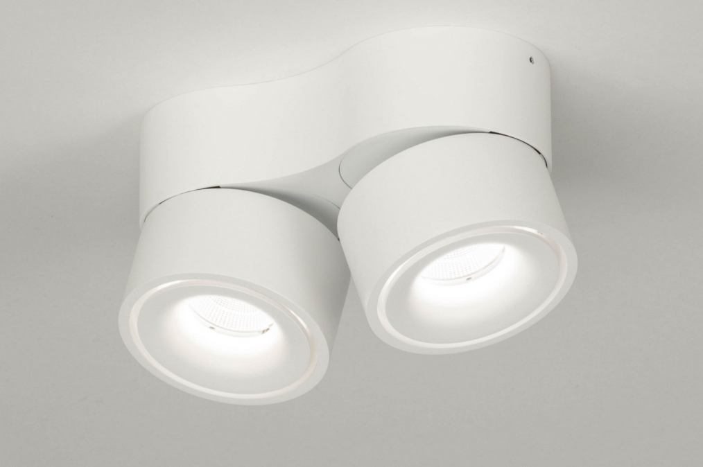 Spotlight 72788: designer, modern, aluminium, white #0