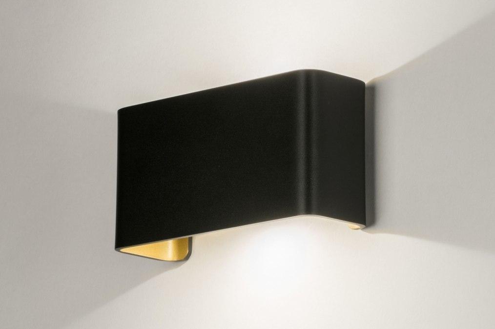 Wandlamp 72790: design, modern, aluminium, metaal #0