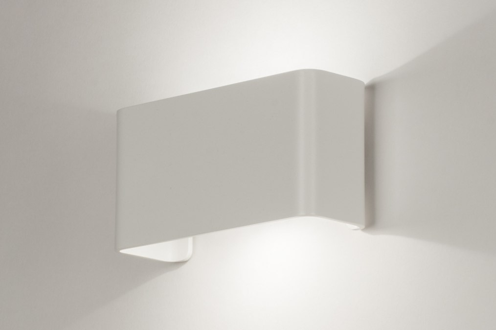 Wandlamp 72803: design, modern, aluminium, metaal #0