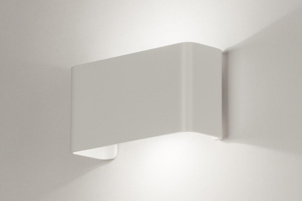 Wall lamp 72803: designer, modern, aluminium, metal #0