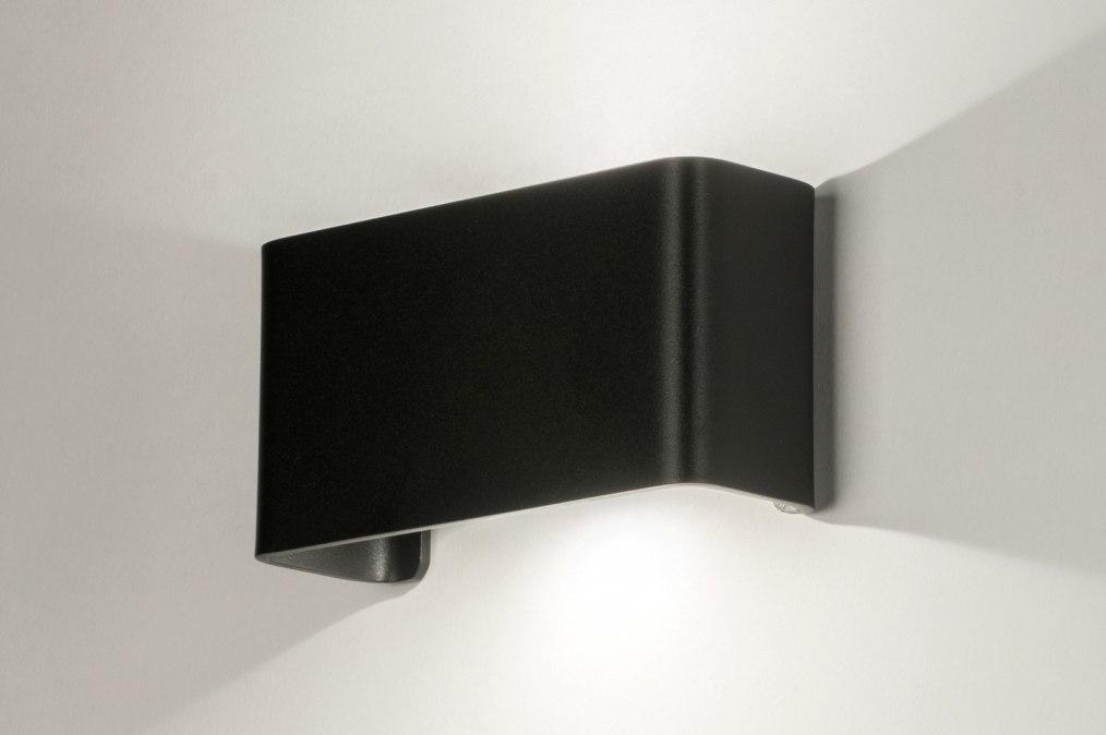 Wandlamp 72804: design, modern, aluminium, metaal #0