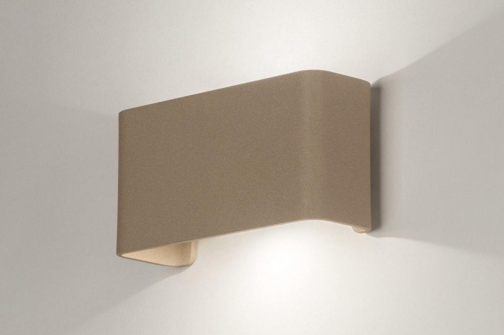 Wandlamp 72806: design, modern, aluminium, metaal #0
