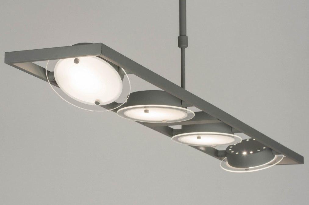 Hanglamp 72823: modern, betongrijs, grijs, metaal #0