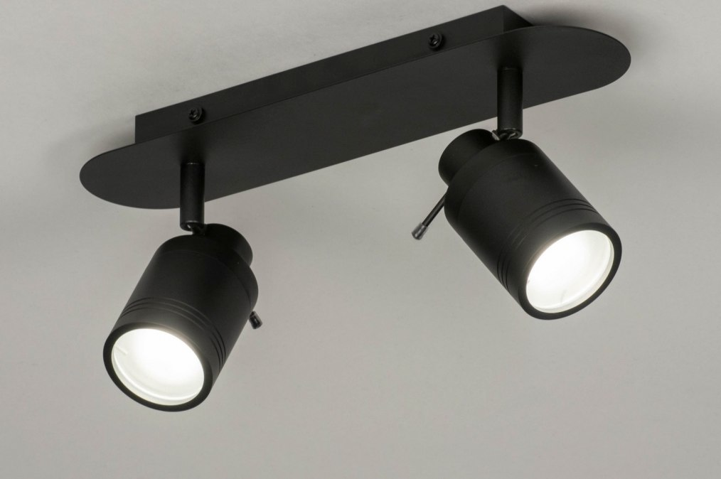 Spotlight 72836: modern, aluminium, metal, black #0