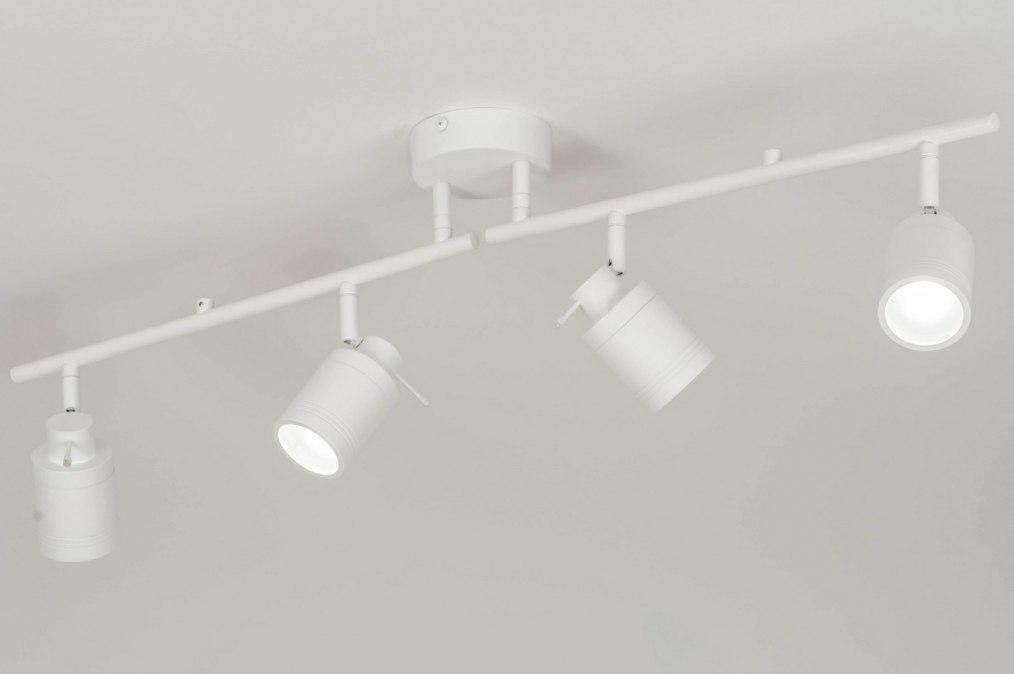 Plafondlamp 72837: landelijk rustiek, modern, aluminium, metaal #0