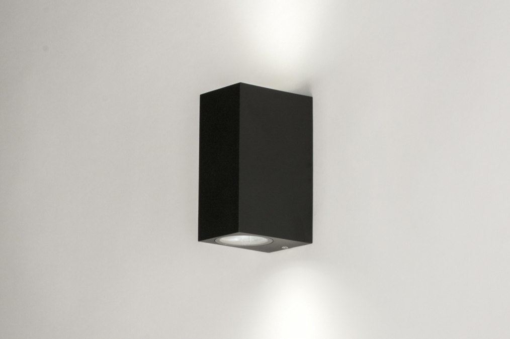 Wandlamp 72851: modern, aluminium, metaal, zwart #0