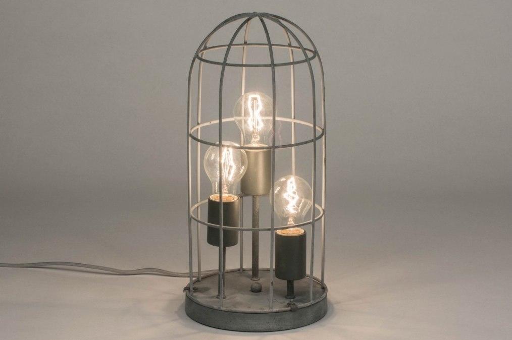 Tafellamp 72856: industrie, look, landelijk, rustiek #0