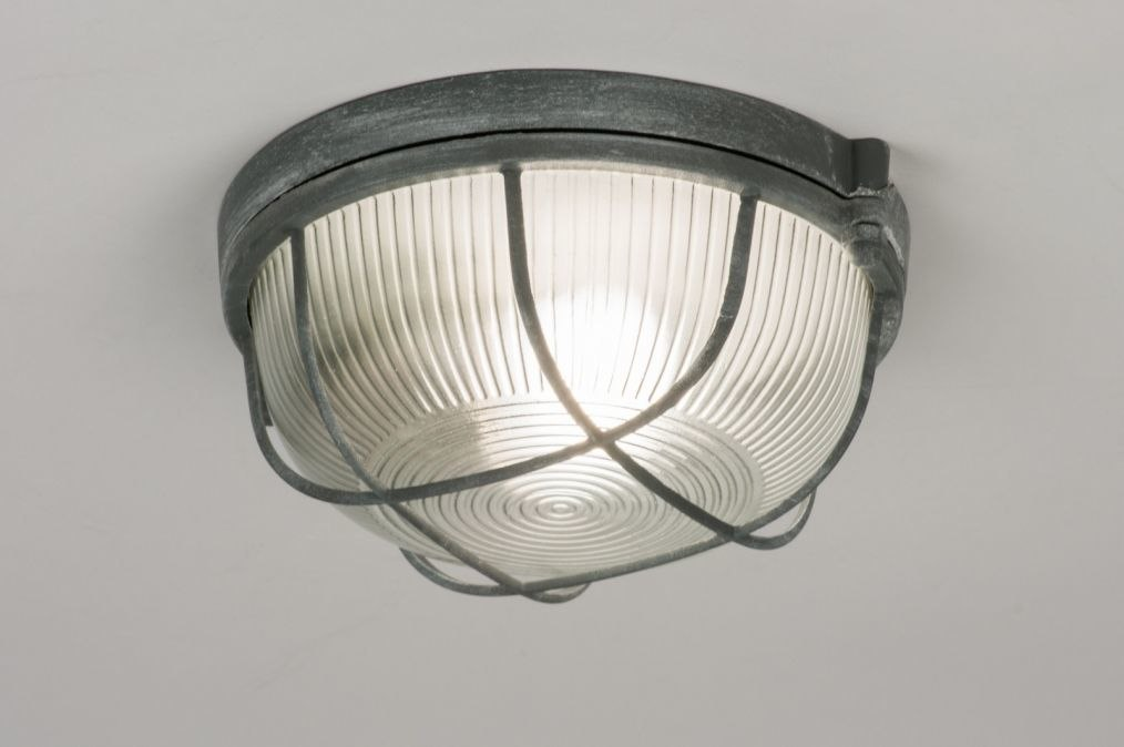 Plafondlamp 72862: industrie, look, landelijk, rustiek #0