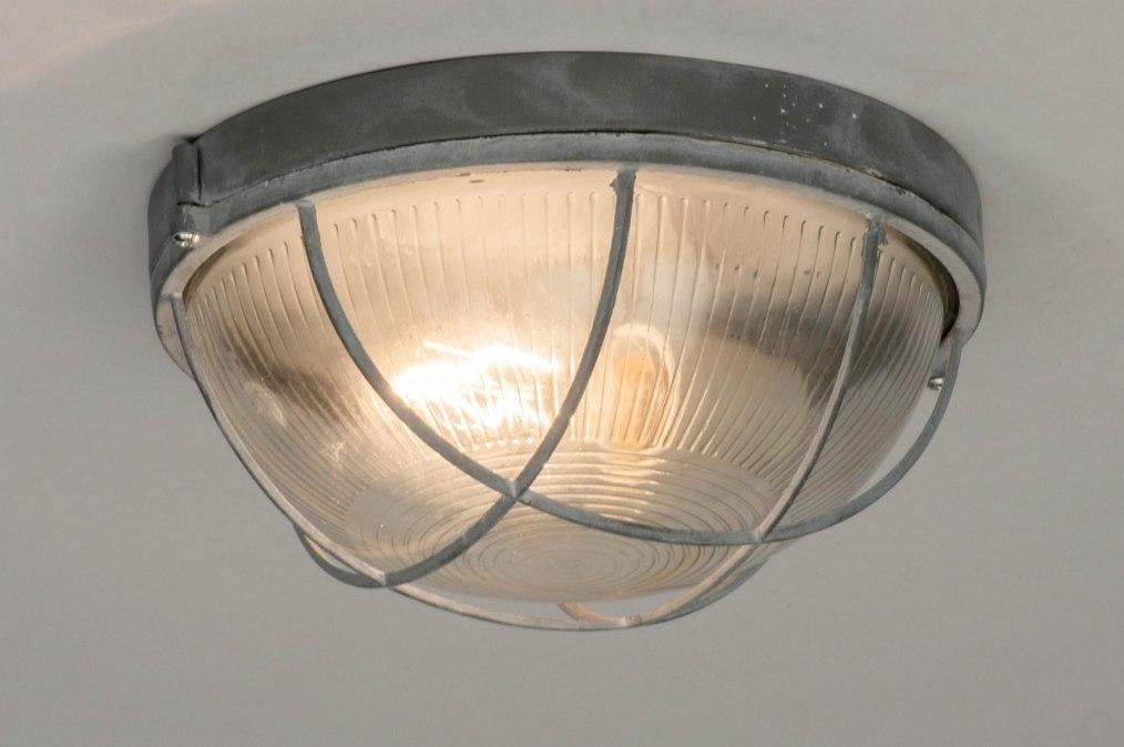 Plafondlamp 72863: industrie, look, landelijk, rustiek #0