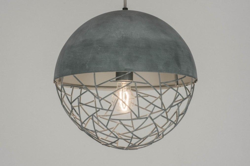 Hanglamp 72869: modern, stoer, raw, retro #0
