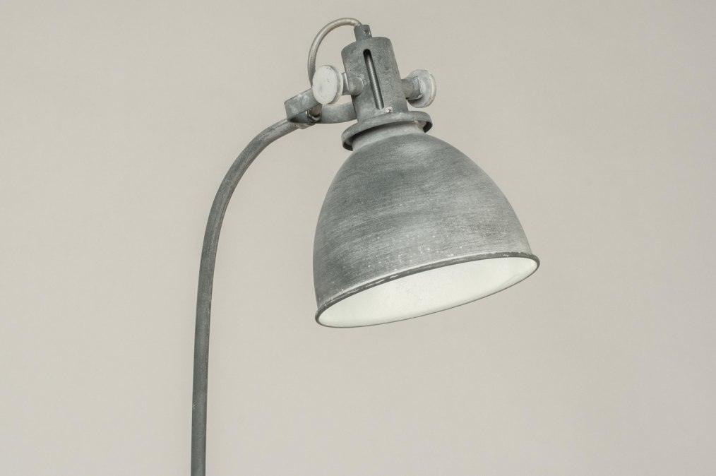 Staande lamp 72887 modern landelijk rustiek industrie look for Staande lamp betonlook