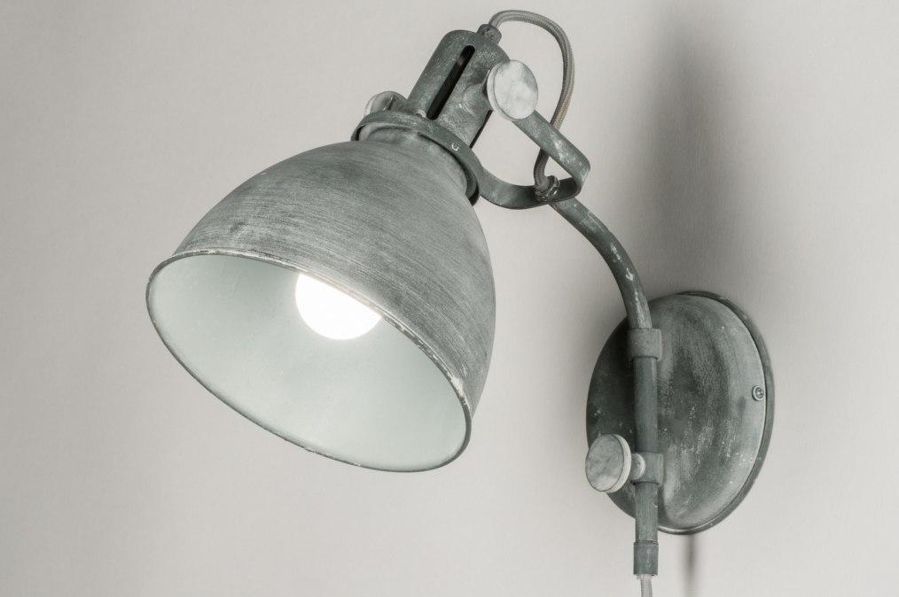 Wandlamp 72888: industrie, look, landelijk, rustiek #0