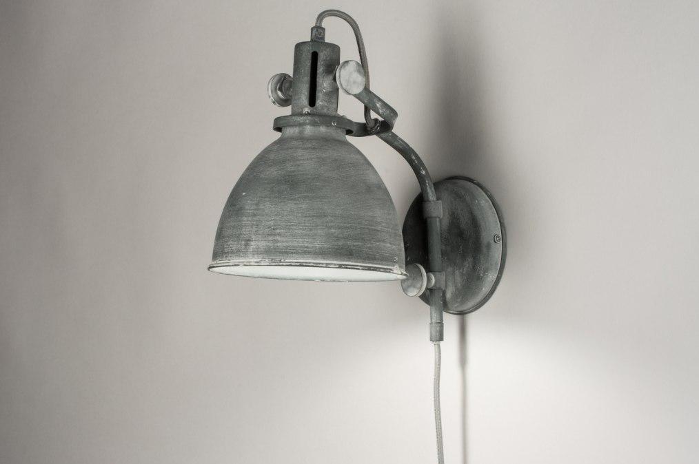 wandleuchte 72888 modern laendlich rustikal industrielook coole lampen grob. Black Bedroom Furniture Sets. Home Design Ideas