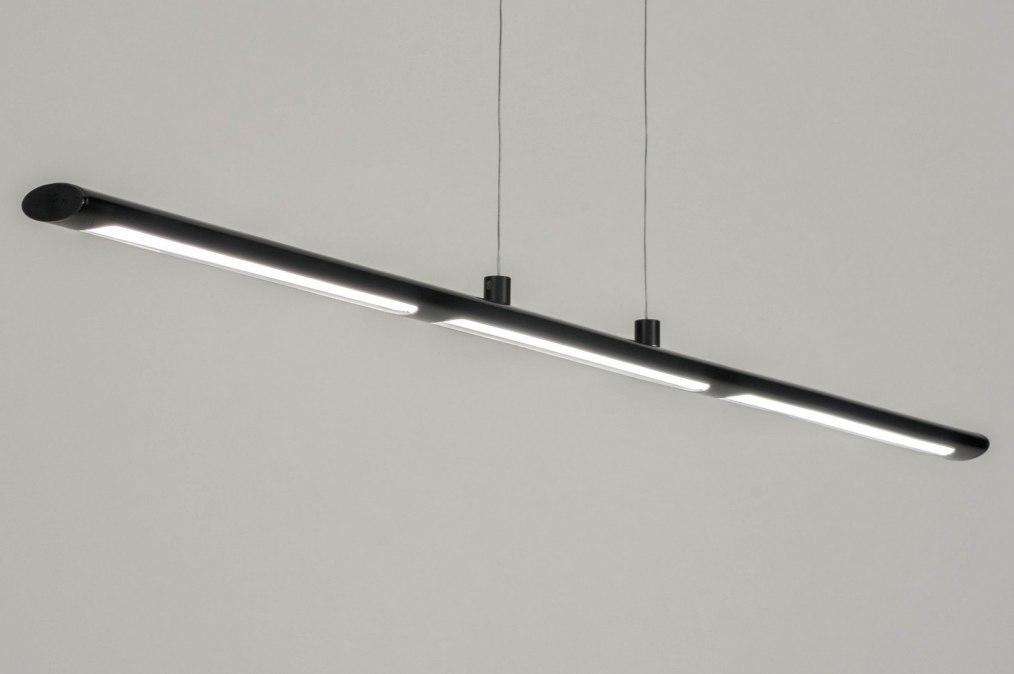 Hanglamp 72898: sale, modern, metaal, zwart #0