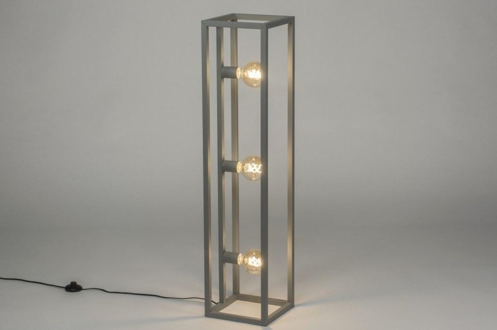 Lampadaire 72923: soldes, look industriel, moderne, lampes costauds #0