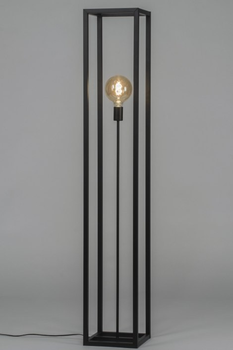 Floor lamp 72924: industrial look, modern, raw, metal #0