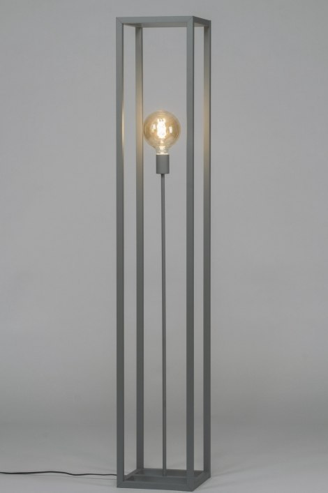 Floor lamp 72925: sale, industrial look, modern, raw #0