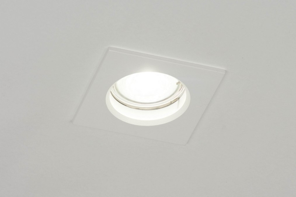 Recessed spotlight 72932: modern, aluminium, metal, white #0