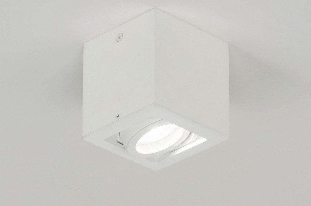 Spot 72974: modern, aluminium, metaal, wit #0
