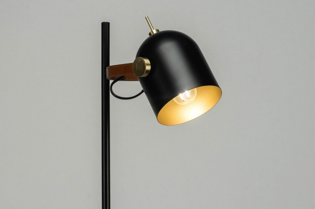 Lampadaire 72980: look industriel, moderne, classique contemporain, acier #0