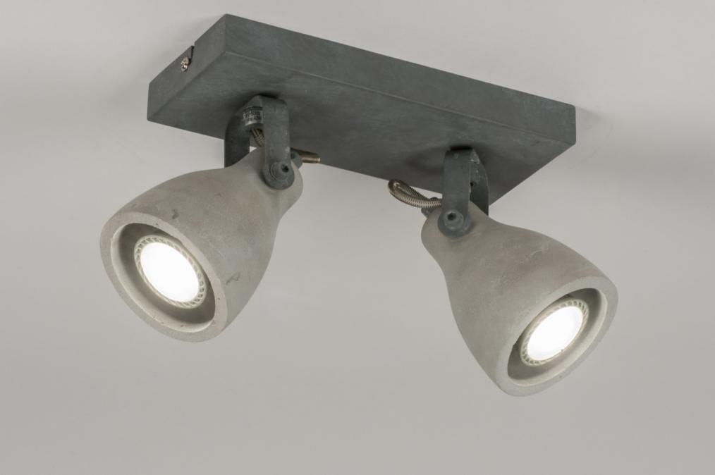 Plafondlamp 72984: landelijk, rustiek, modern, stoer #0