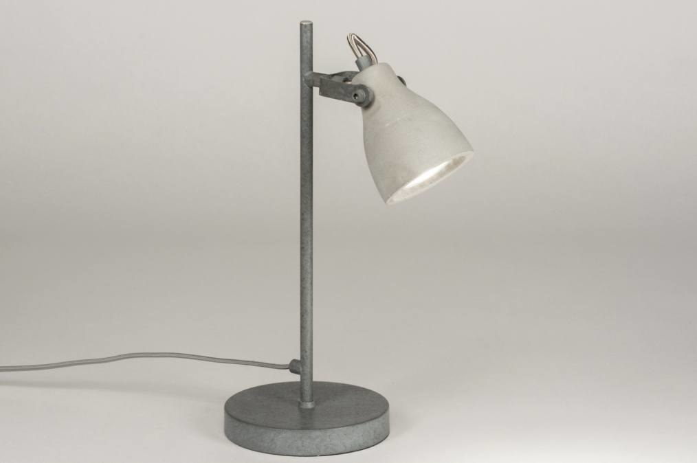 Table lamp 72987: rustic, modern, raw, concrete #0
