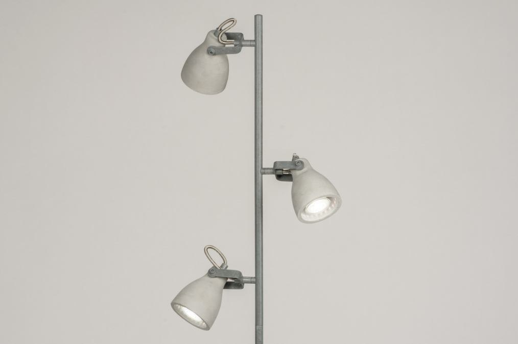 Floor lamp 72988: rustic, modern, raw, concrete #0