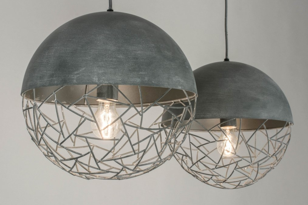 Hanglamp 72996: modern, stoer, raw, retro #0