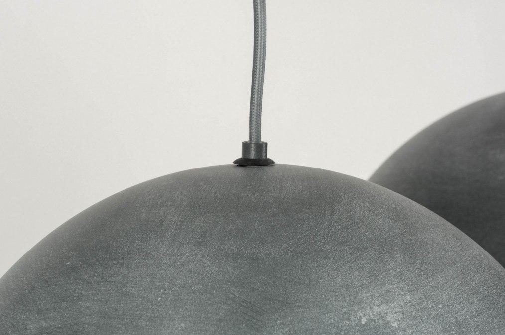 pendelleuchte 72997 modern retro coole lampen grob betongrau. Black Bedroom Furniture Sets. Home Design Ideas