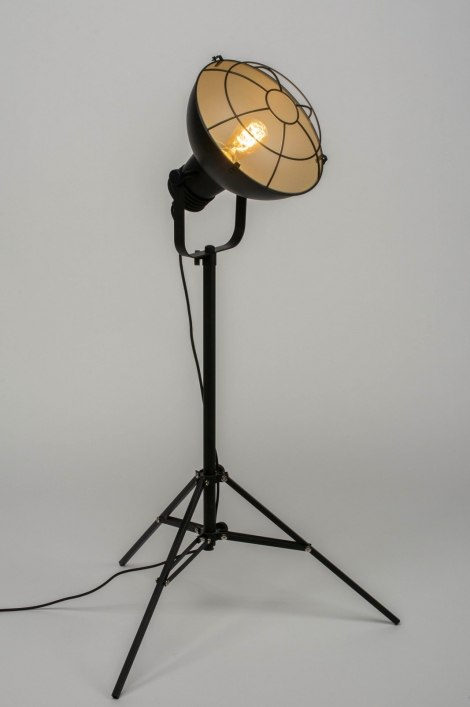 Floor Lamp 73008 Industrial Look Modern Raw Metal