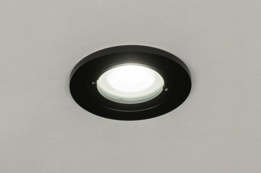 Recessed spotlight 73085: industrial look, modern, aluminium, metal #0
