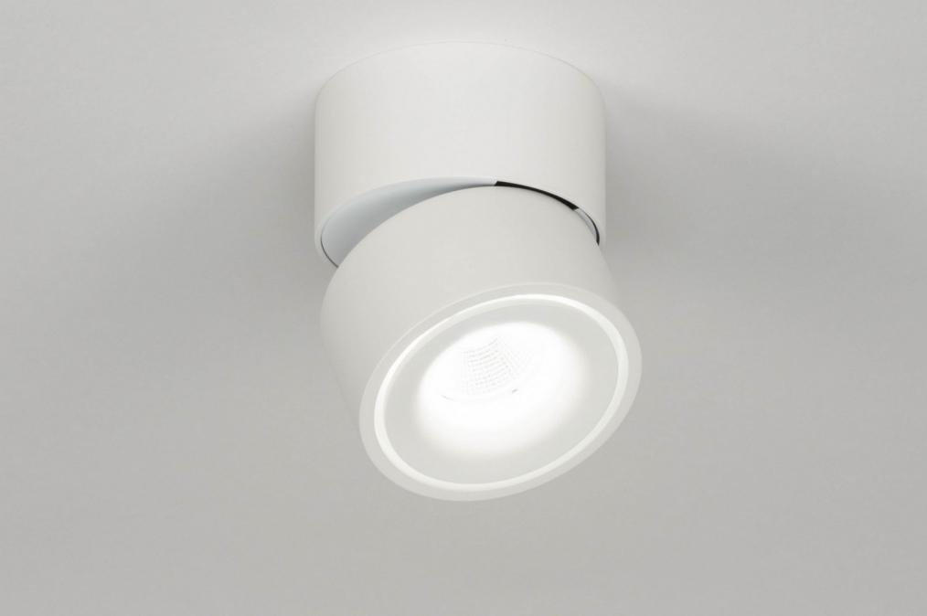 Spot 73089: design, modern, aluminium, wit #0