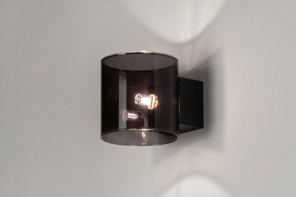Wall lamp 73110: modern, retro, glass, metal #0