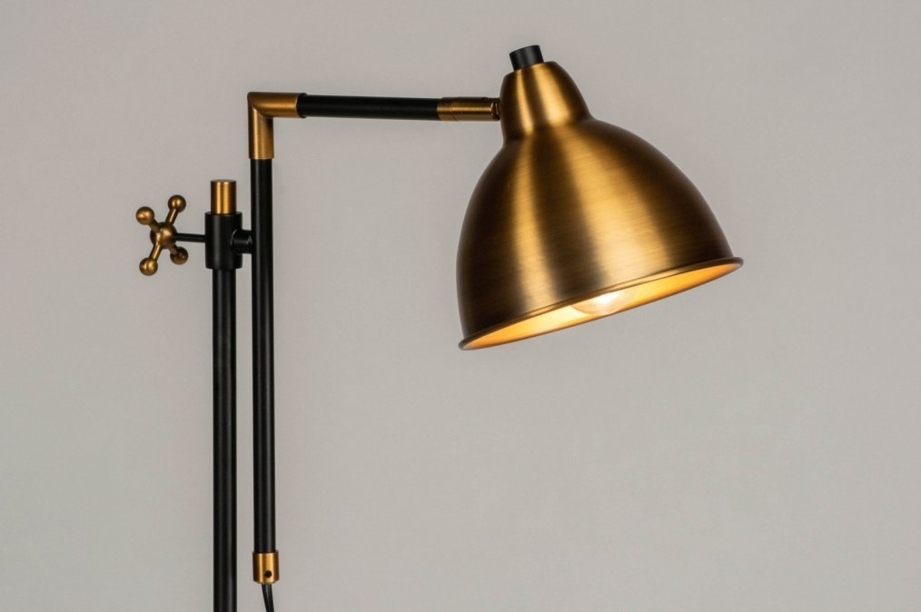 Floor lamp 73120: rustic, classical, contemporary classical, brass #0