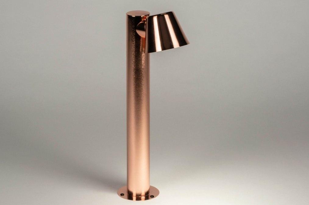 Staande lamp 73144: eindereeks, design, modern, staal rvs #0