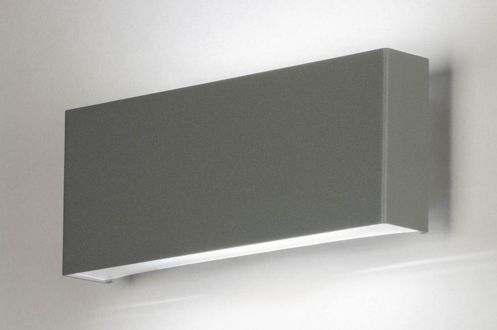 Wandlamp 73153: eindereeks, design, modern, aluminium #0