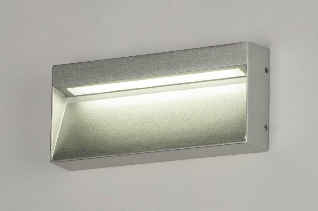 Wall lamp 73171: designer, modern, aluminium, metal #0