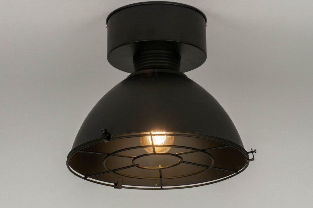 Plafondlamp 73180: industrie, look, landelijk, rustiek #0