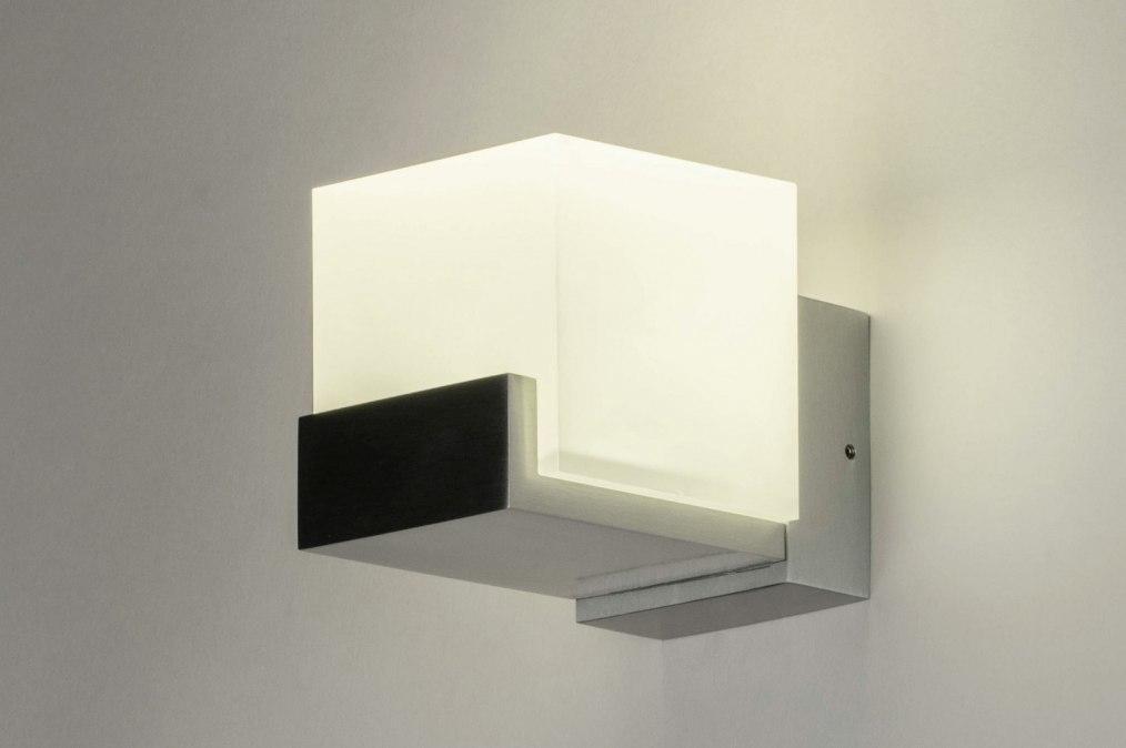 Wandlamp 73212: design, modern, aluminium, kunststof #0