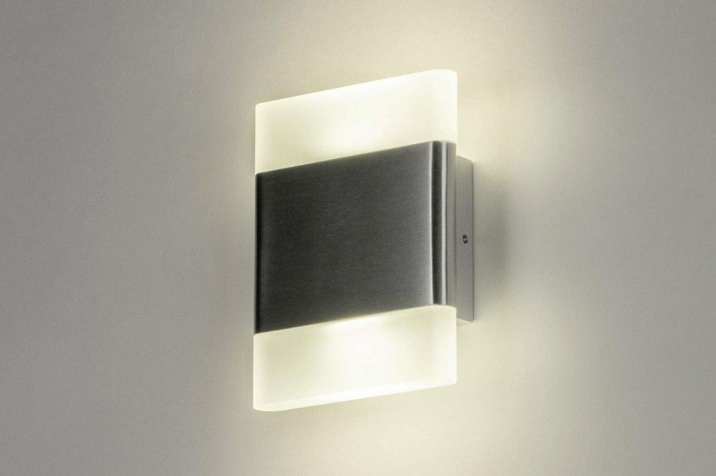 Wall lamp 73215: designer, modern, aluminium, plastic #0