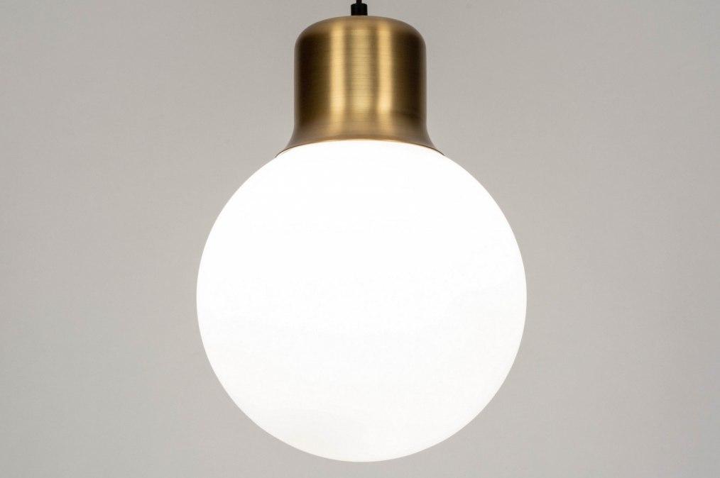 Hanglamp 73218: modern, retro, eigentijds klassiek, glas #0