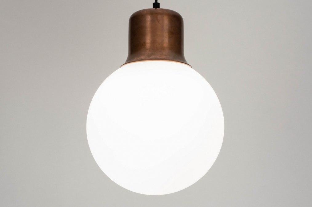 Hanglamp 73219: modern, eigentijds klassiek, art deco, glas #0