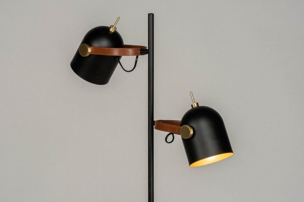 Vloerlamp 73244: industrie, look, modern, metaal #0