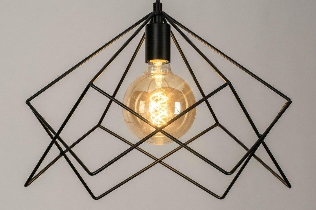 Hanglamp 73261: sale, modern, metaal, zwart #0